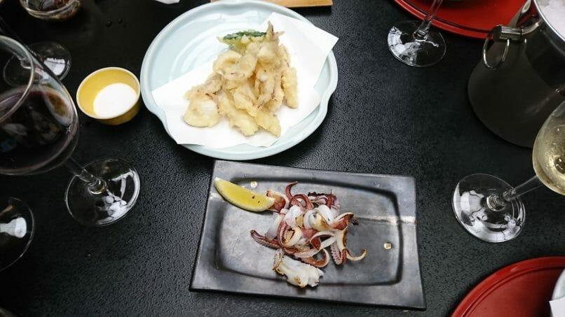 ホテル西長門リゾートの夕食