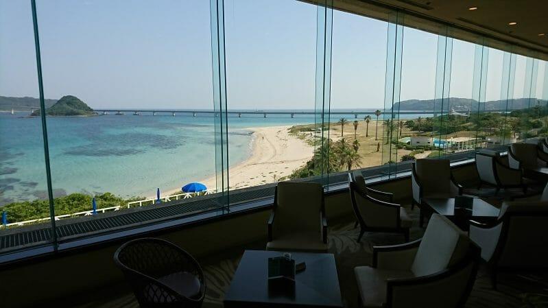 ホテル西長門リゾートの朝食会場