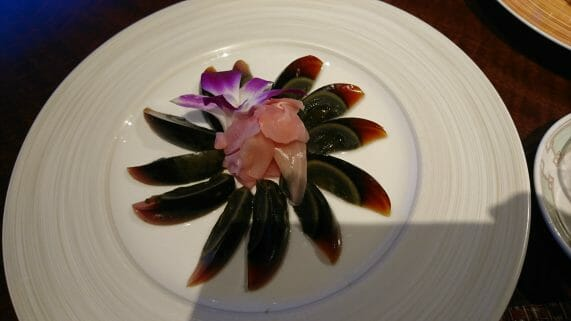 新神戸ANAクラウンプラザの34階にある中国レストラン蘇州のピータン