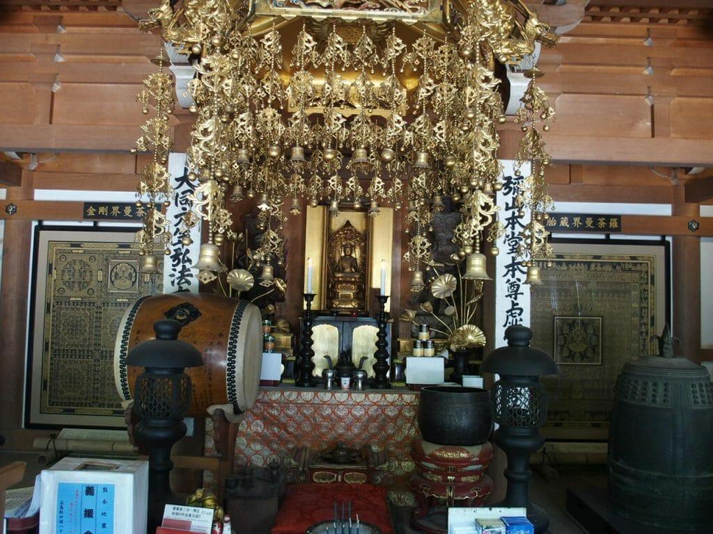 広島県宮島にあるパワースポット弥山本堂