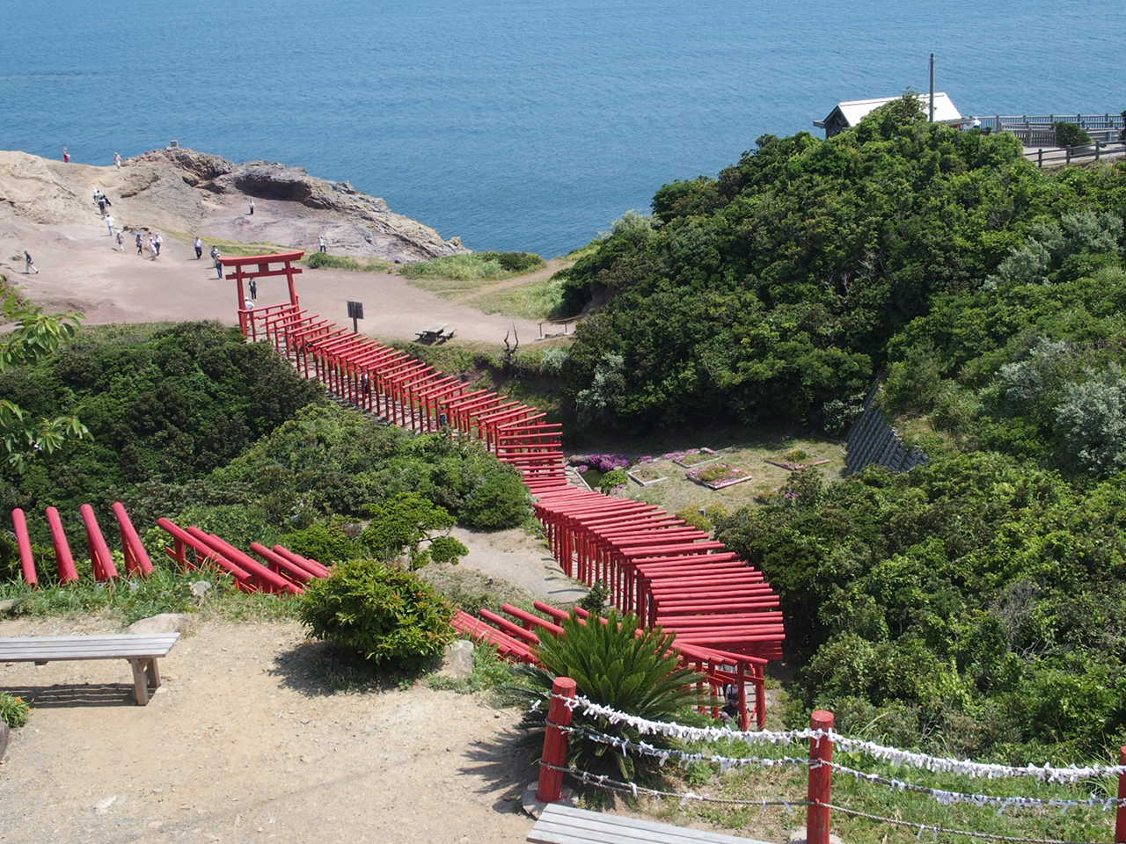 元乃隅稲成神社の参道