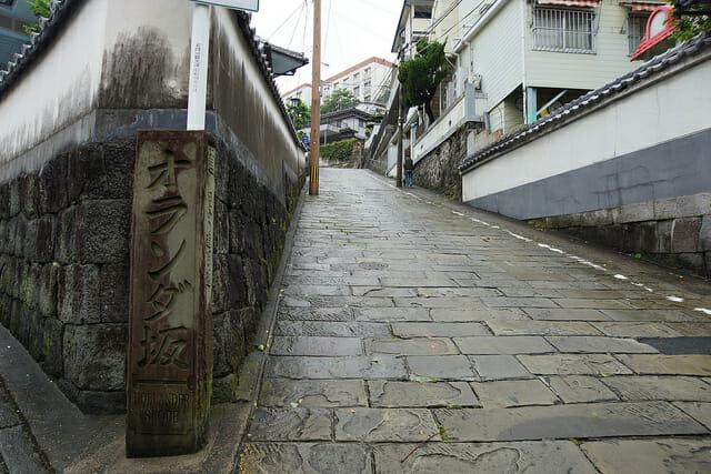 長崎のオランダ坂