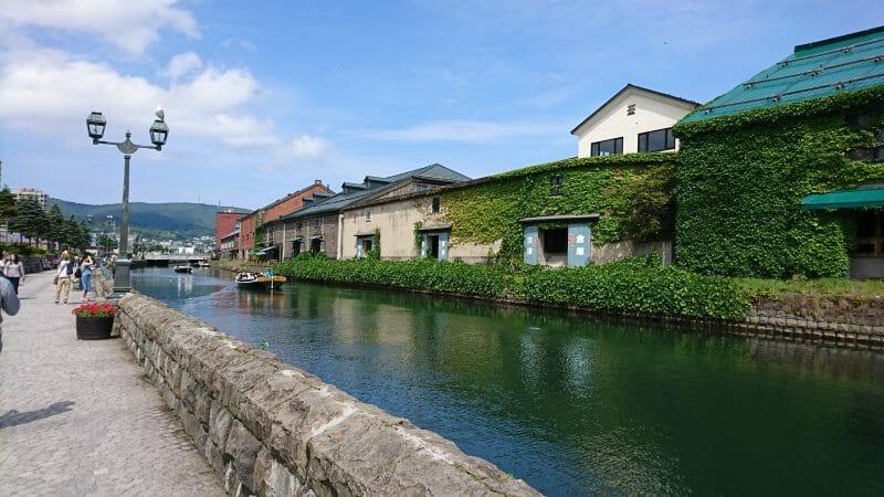 小樽の観光スポット小樽運河