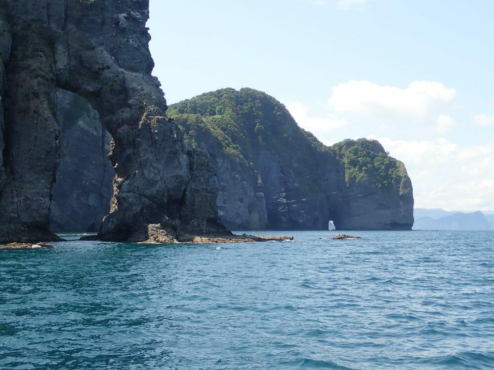 小樽海上観光船に乗ってツルカケ岩を見た