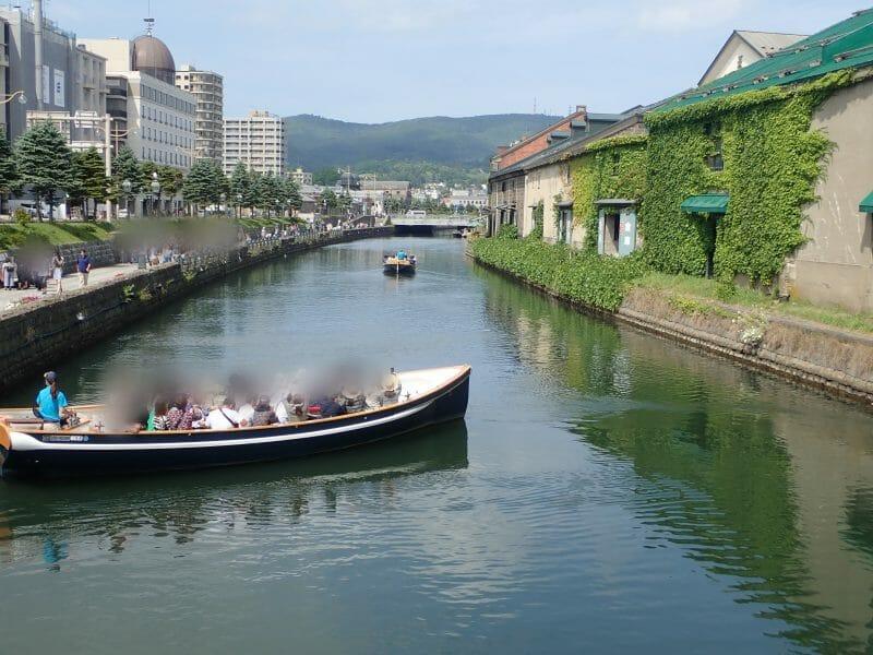 小樽の観光名所小樽運河