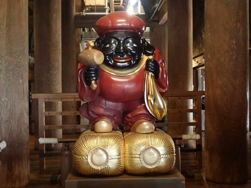 京都の清水寺の仕事運のパワースポット出世大黒天