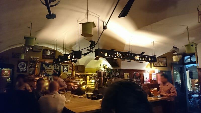 イタリアボルツァーノの街でディナーを頂いたチロル料理と地ビールのレストランHopfen&Co