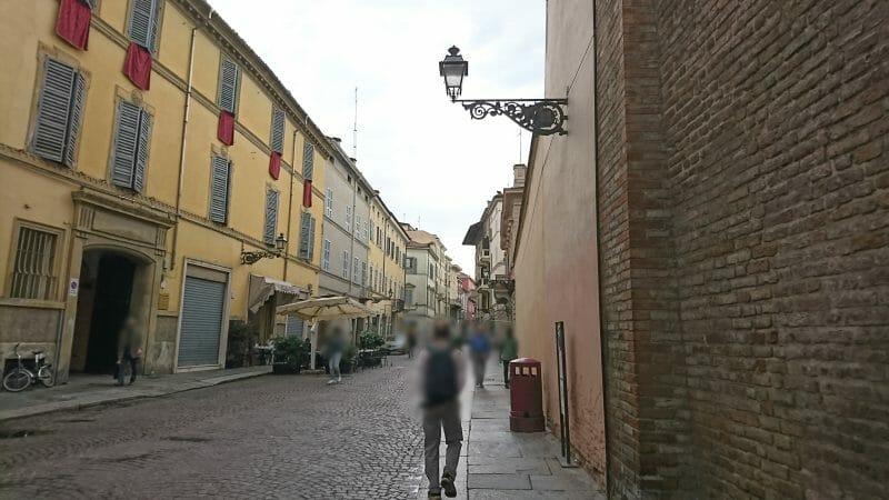 イタリアのパルマ観光