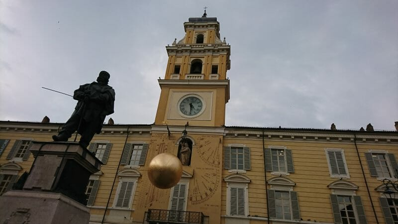 イタリアパルマ観光ガリバルディ広場