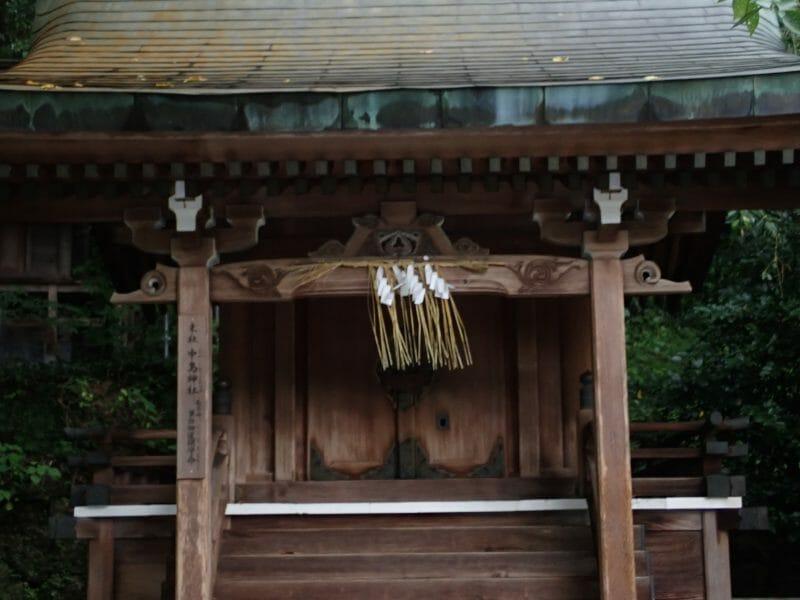 太宰府天満宮にあるお菓子の神様中嶋神社