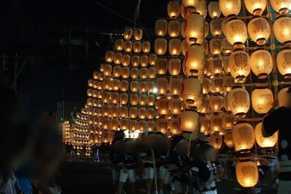 ダイヤモンドプリンセスで秋田竿灯祭りを観に行く