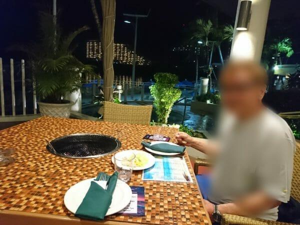 グアムウエスティンホテルのスターライトバーベキュー