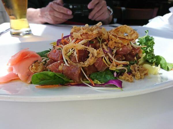 グアムでランチを食べたシーグリルレストラン