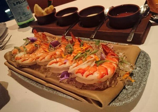 グアムのおすすめレストランホテルデュシタニグアムリゾートDusit Thani Guam Resort内のアルフレードズ