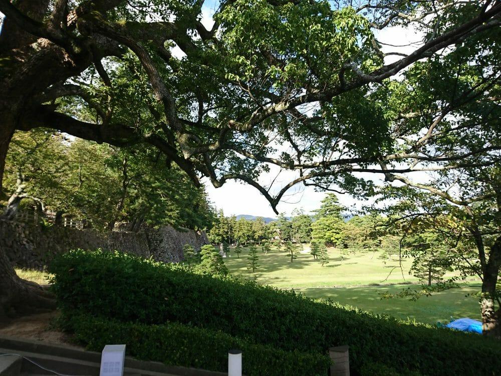島根県松江にある国宝松江城