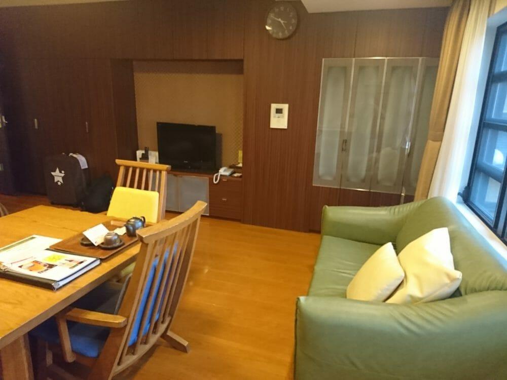 ポイントバケーション京都岡崎の客室