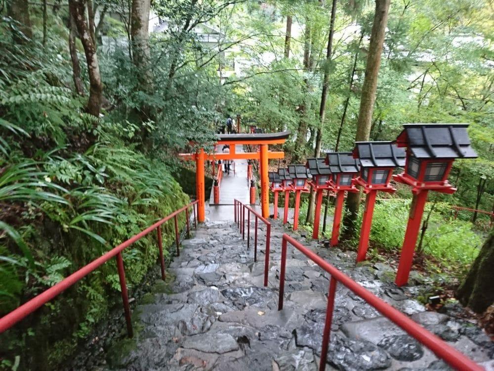 京都のパワースポット貴船神社