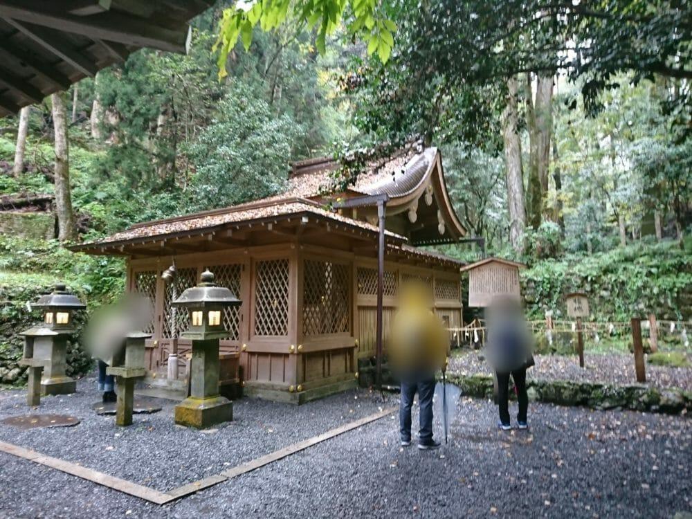 貴船神社の奥宮のご本殿