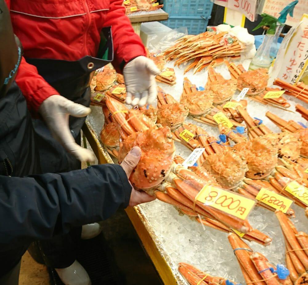 城崎温泉の海鮮のお店大幸商店