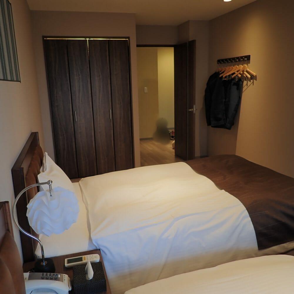 ポイントバケーション近江びわ湖の寝室