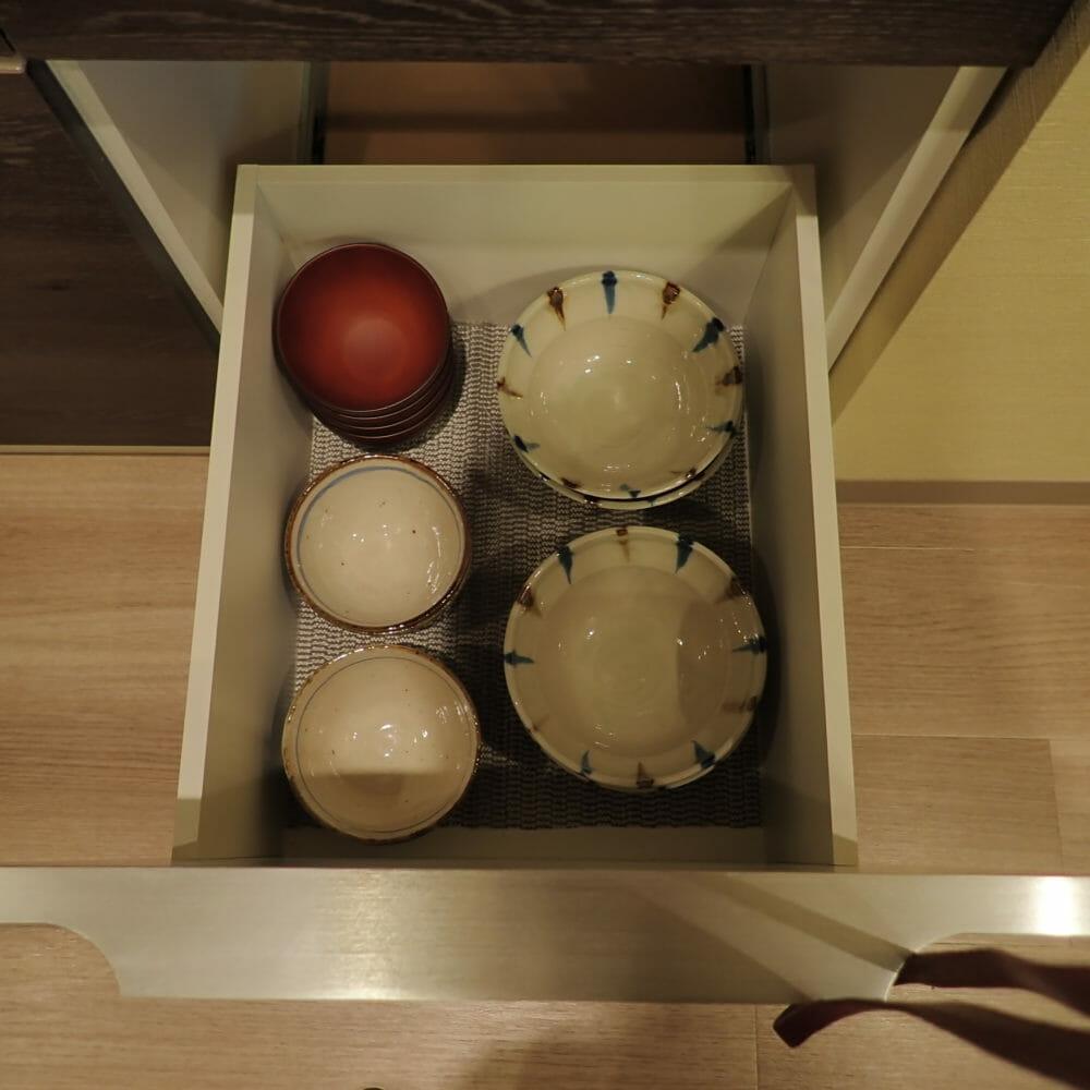 ポイントバケーション近江びわ湖のキッチン・使用できる食器
