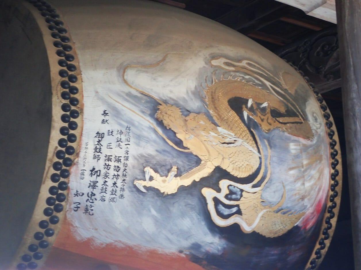 諏訪大社上社本宮の神楽殿