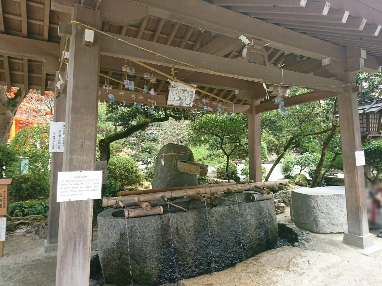 上賀茂神社の手水舎