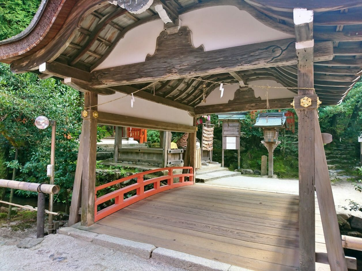 上賀茂神社の片岡橋