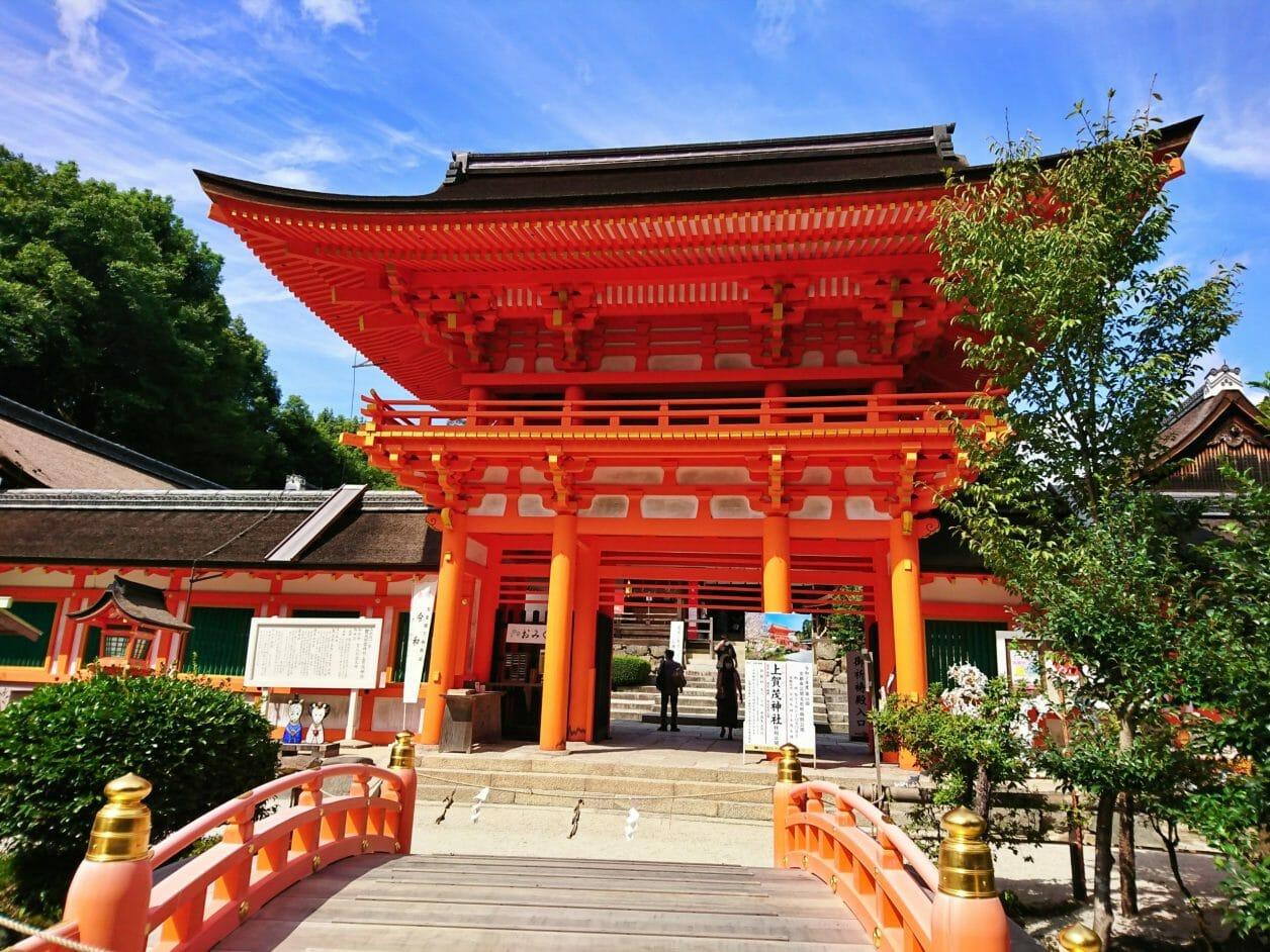 上賀茂神社と下鴨神社