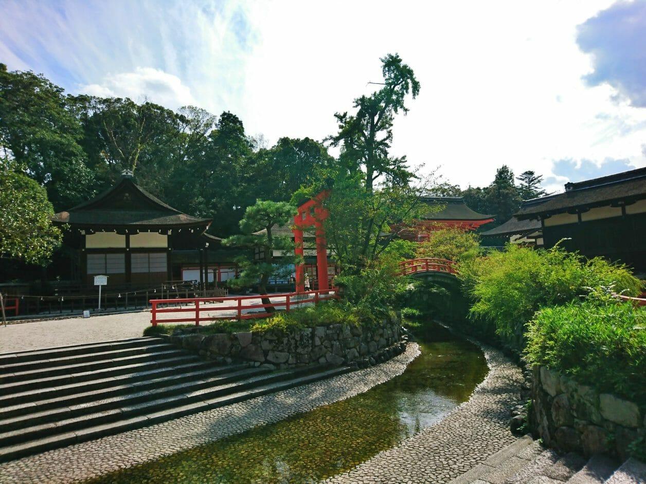 下鴨神社の御手洗川
