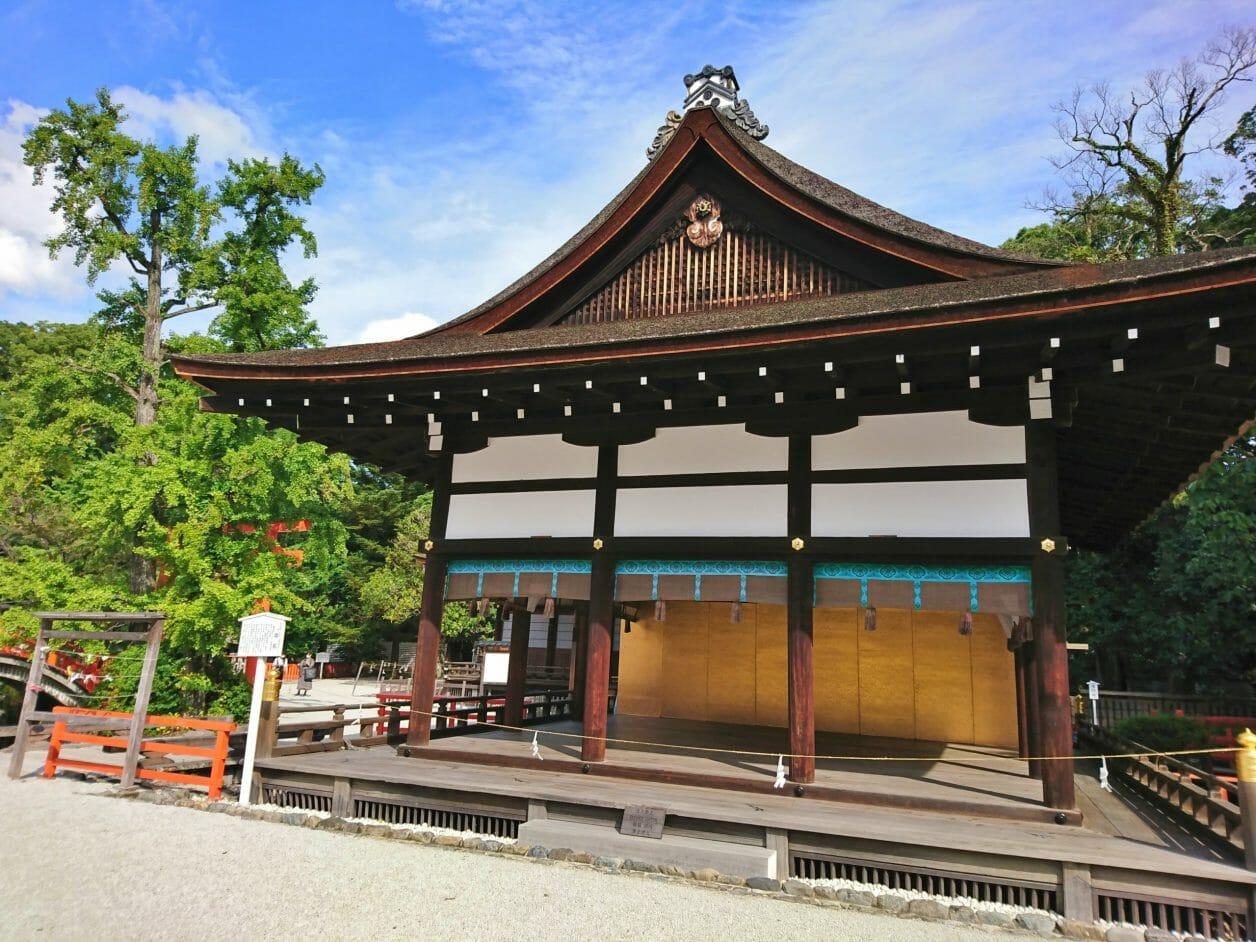 下鴨神社の橋殿