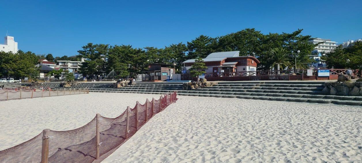 南紀白浜の観光スポット白良浜