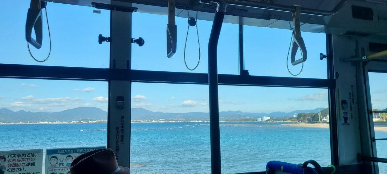 南紀白浜で観光に便利な明光バスから見える絶景
